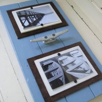 marina blue cleat frame