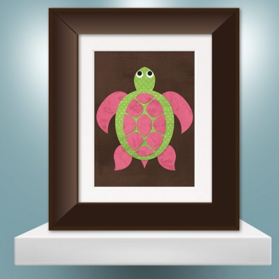 seaturtle_girl_single_brframe