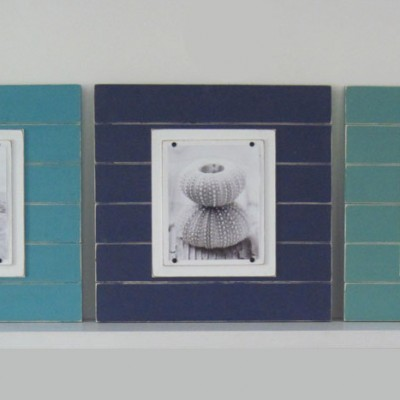 Shades of Blue Plank Frame Set