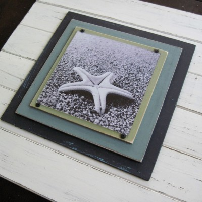 x-tra large distressed plank frame 4
