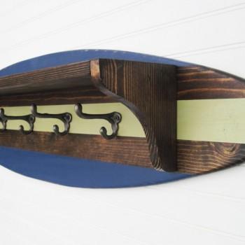 dark stain surfboard