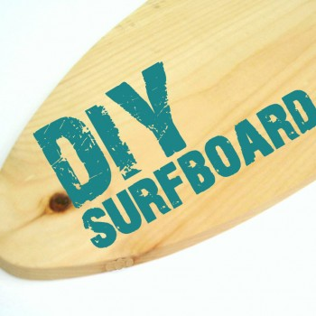 DIY surfboard
