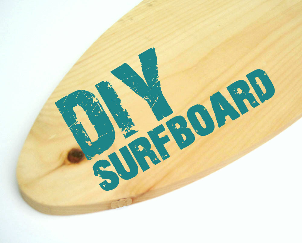 DIY Surfboard - Choose Size- Project Cottage