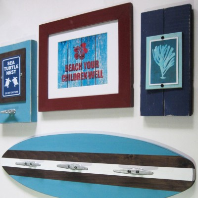 blue surfboard 2