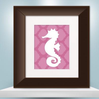 seahorse_pink_damask