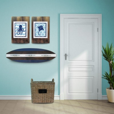 navy surfboard coat rack 2