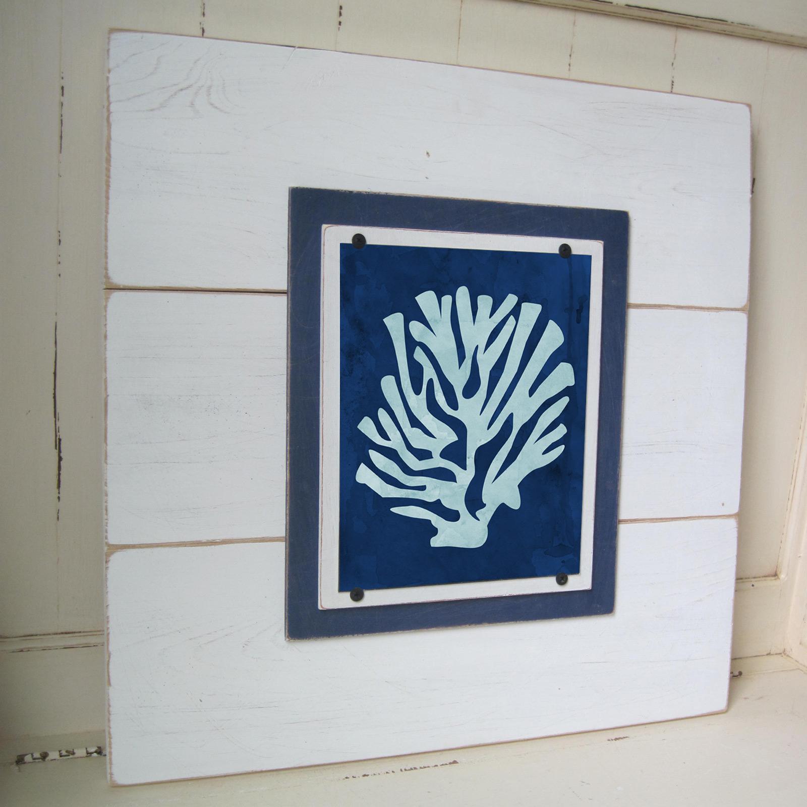 Set of 3 framed coral prints project cottage framed coral prints framed coral prints jeuxipadfo Gallery