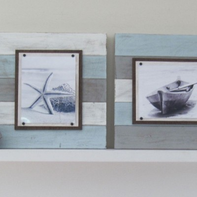 multicolored plank frame set 2