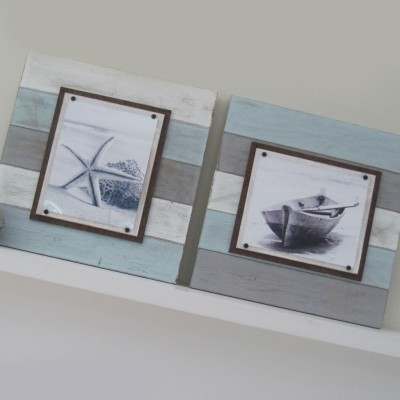 multicolored plank frame set 3