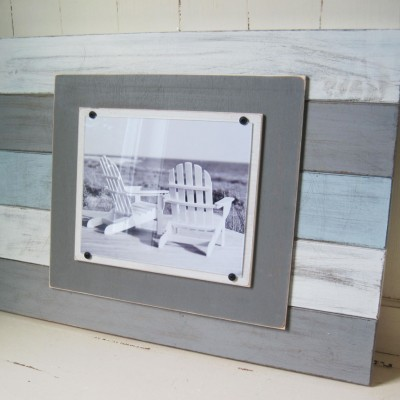 Multicolored Plank Frame 3