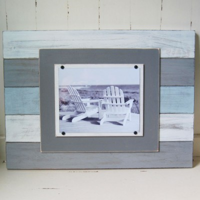 Multicolored Plank Frame 2