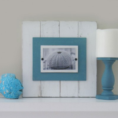 Turquoise Plank Frame 2