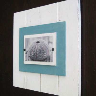 Turquoise Plank Frame 4