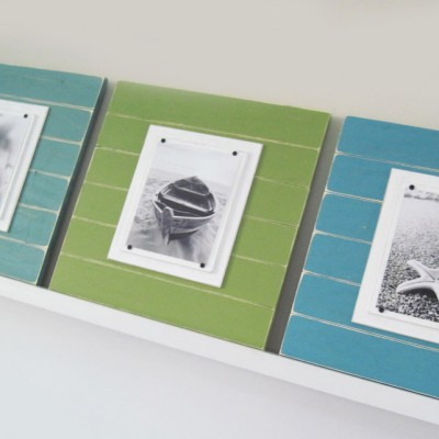 Coastal Plank Frame Set 3
