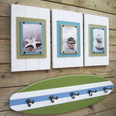 Set of Coastal Plank Frames