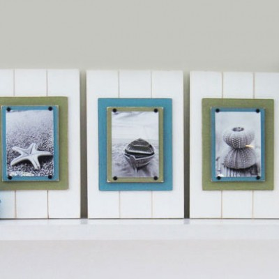 Set of Coastal Plank Frames 2