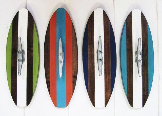 surfboard wall hooks