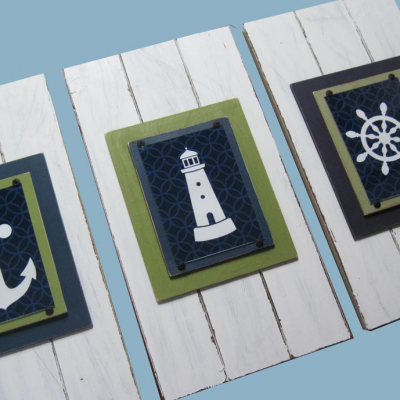 Nautical Nursery Frame Set