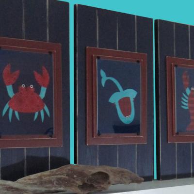 Sea Life Print Set 3