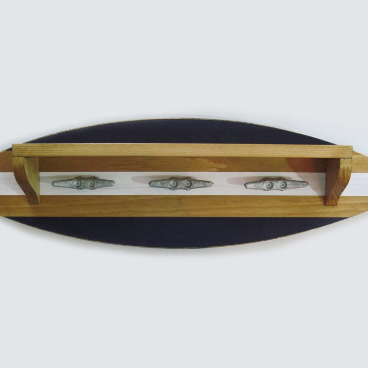 surfboard coat rack