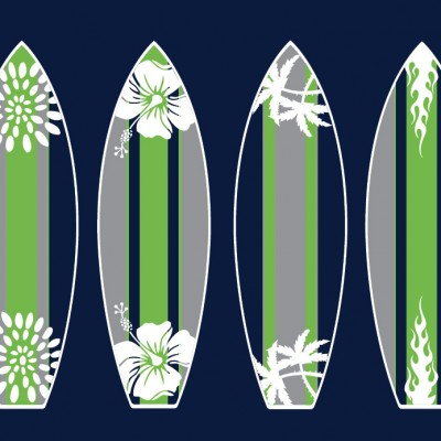 Surfboard Print for Kids