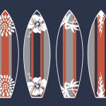 Surfboards Print