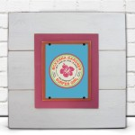 Personalized Surfer Girl Framed Print