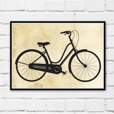 Beach Cruiser Bicycle Print