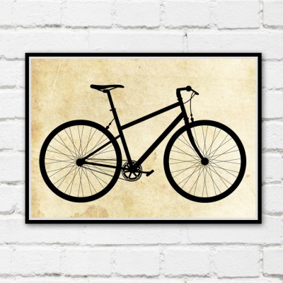 Mountain Bicycle Print