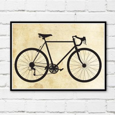 Ten Speed Bicycle Print