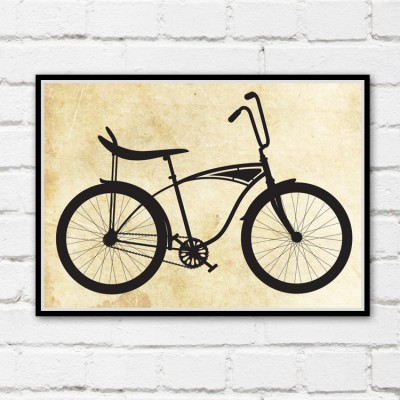 Banana Seat Bicycle Print