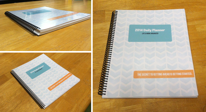 2014 Daily Planner - The Project Cottage