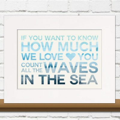 Nautical Nursery Print