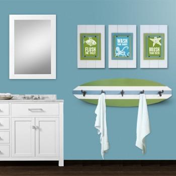 Kid's Beach Bathroom Set