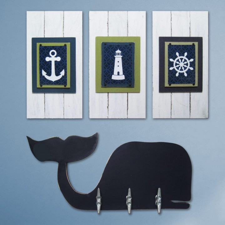 Nautical Nursery Print Set