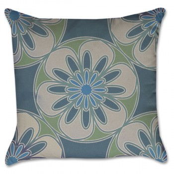 Blue and Green Medallion
