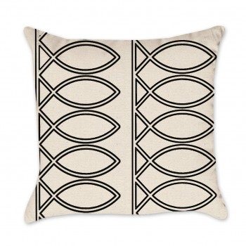 Fish Pattern pillow cover
