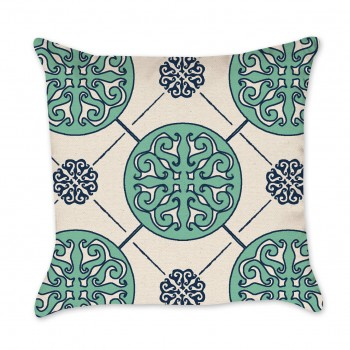 Medallion Pillow Cover mint