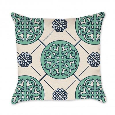 Medallion Pillow Cover mint