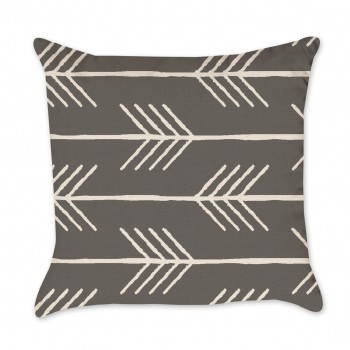 arrow pattern pillow cover