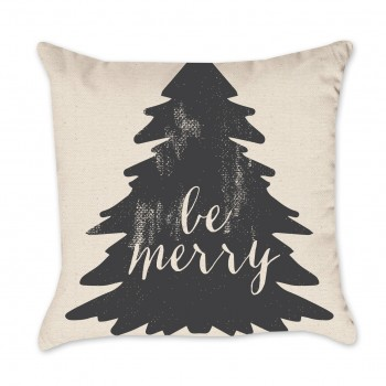 be merry pillow cover