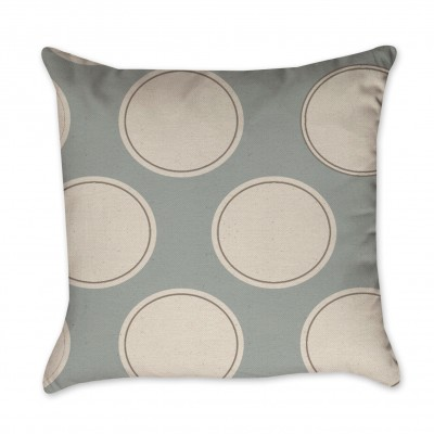 big circle pillow cover