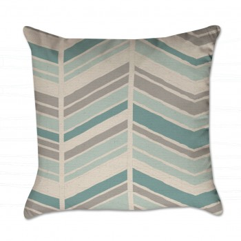 chevron pattern pillow cover