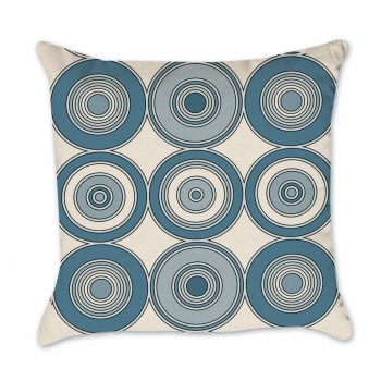 circle pillow cover