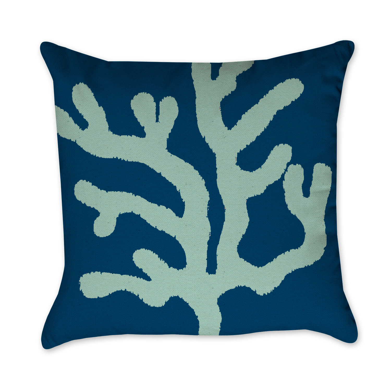 dp nautical cushion cotton starfish blue embroidered com decor coral and pillows kitchen navy pillow home linen accent l square kainkain cover throw amazon