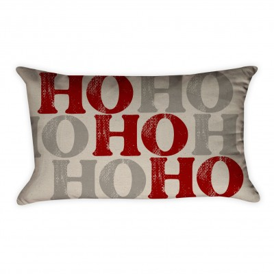 ho ho pillow cover