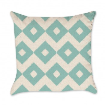 ikat diamond pillow cover