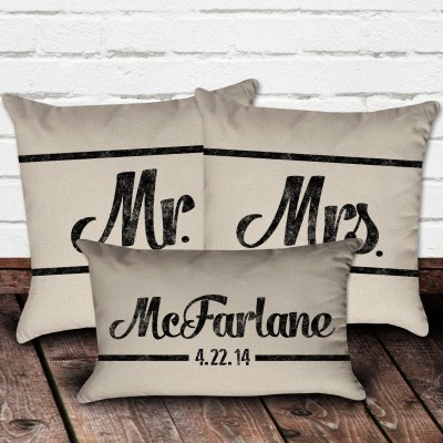 custom name pillow cover