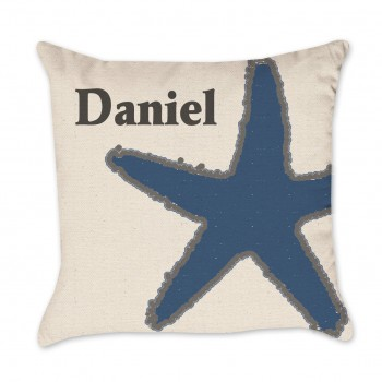 coastal pillow cover