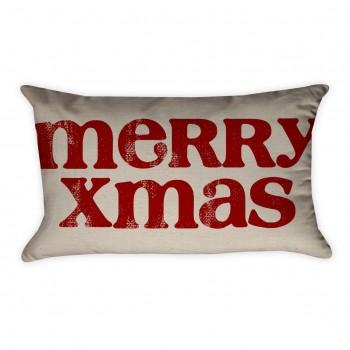 merry xmas pillow cover